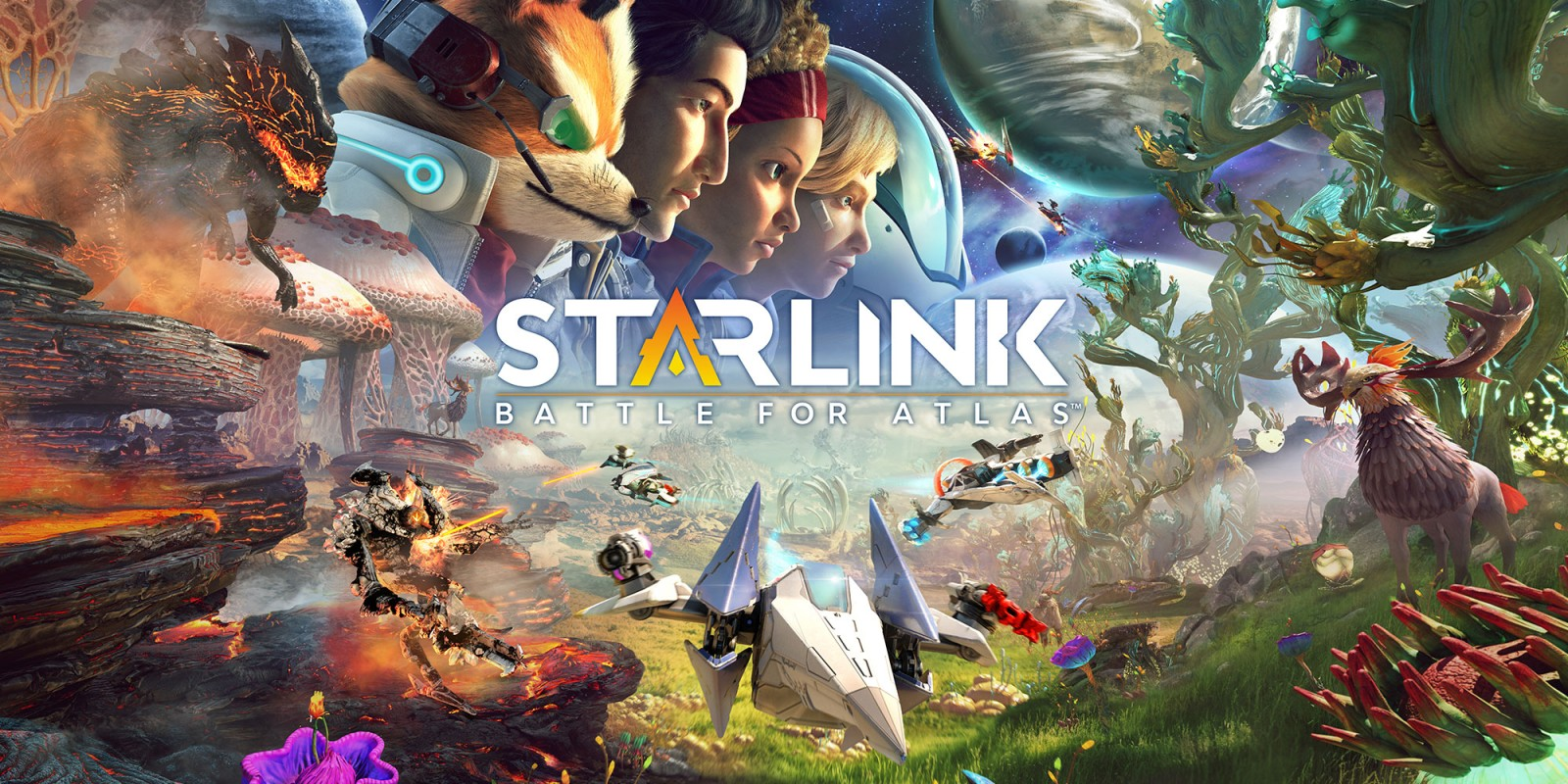 Starlink: Battle for Atlas is the best non-Star Fox Star Fox Game