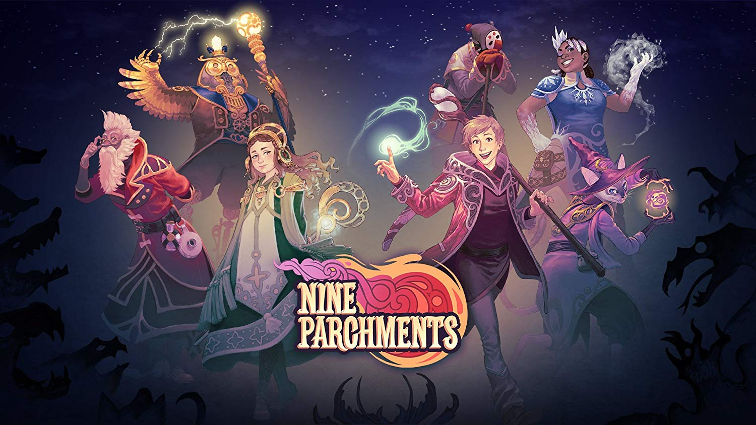 Trine Meets Magicka in the Wonderfully Chaotic Nine Parchments