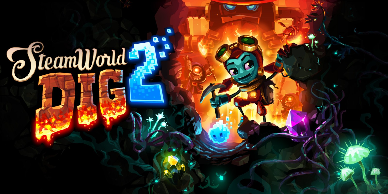 Dig Up Some Fun with SteamWorld Dig 2