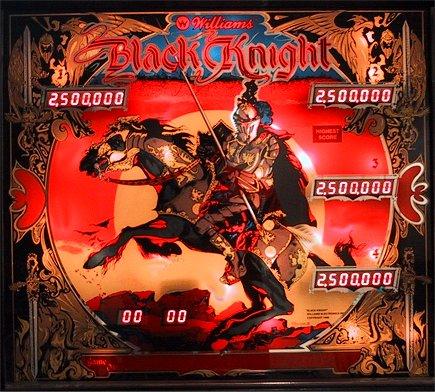 A World of Games: Black Knight Pinball