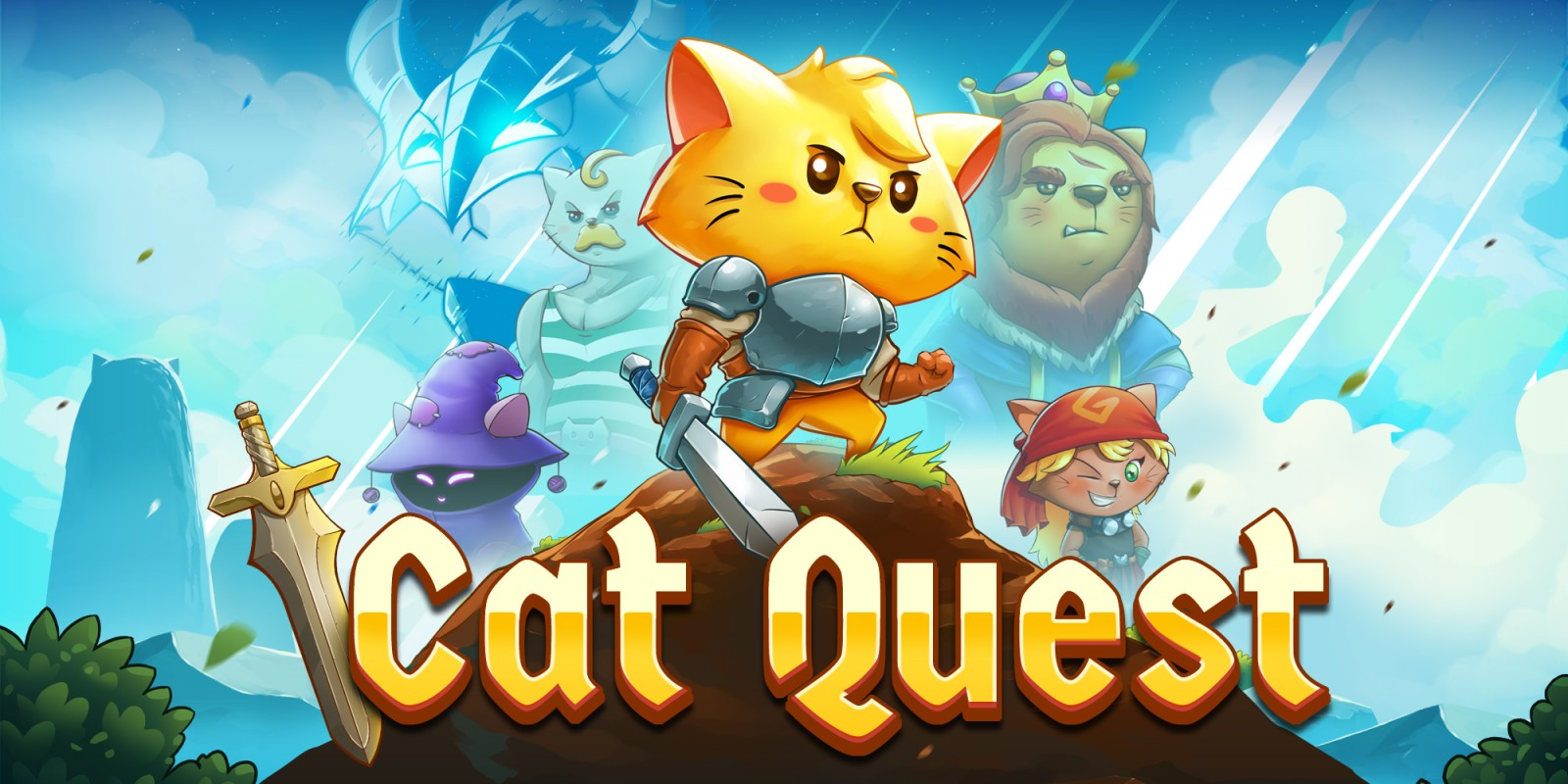 Cat Quest is the Purrrfect casual RPG for Cat Lovers