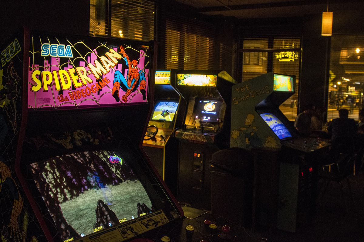 Top Ten Favorite Arcade Games