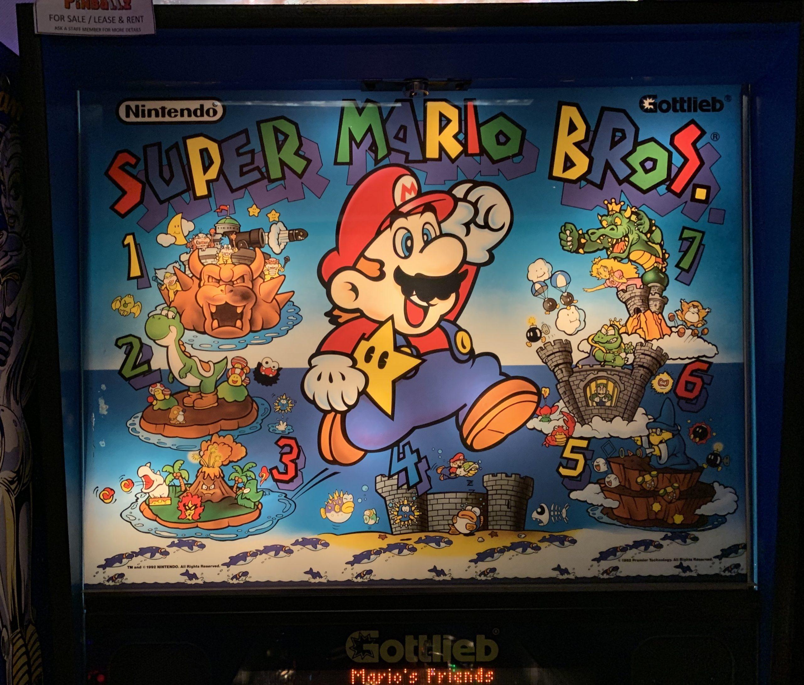 A World of Games: Super Mario Bros Pinball