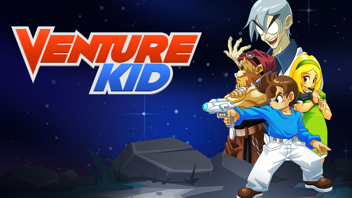 Venture Kid is a Mega Man Clone Missing the Mega Man Magic