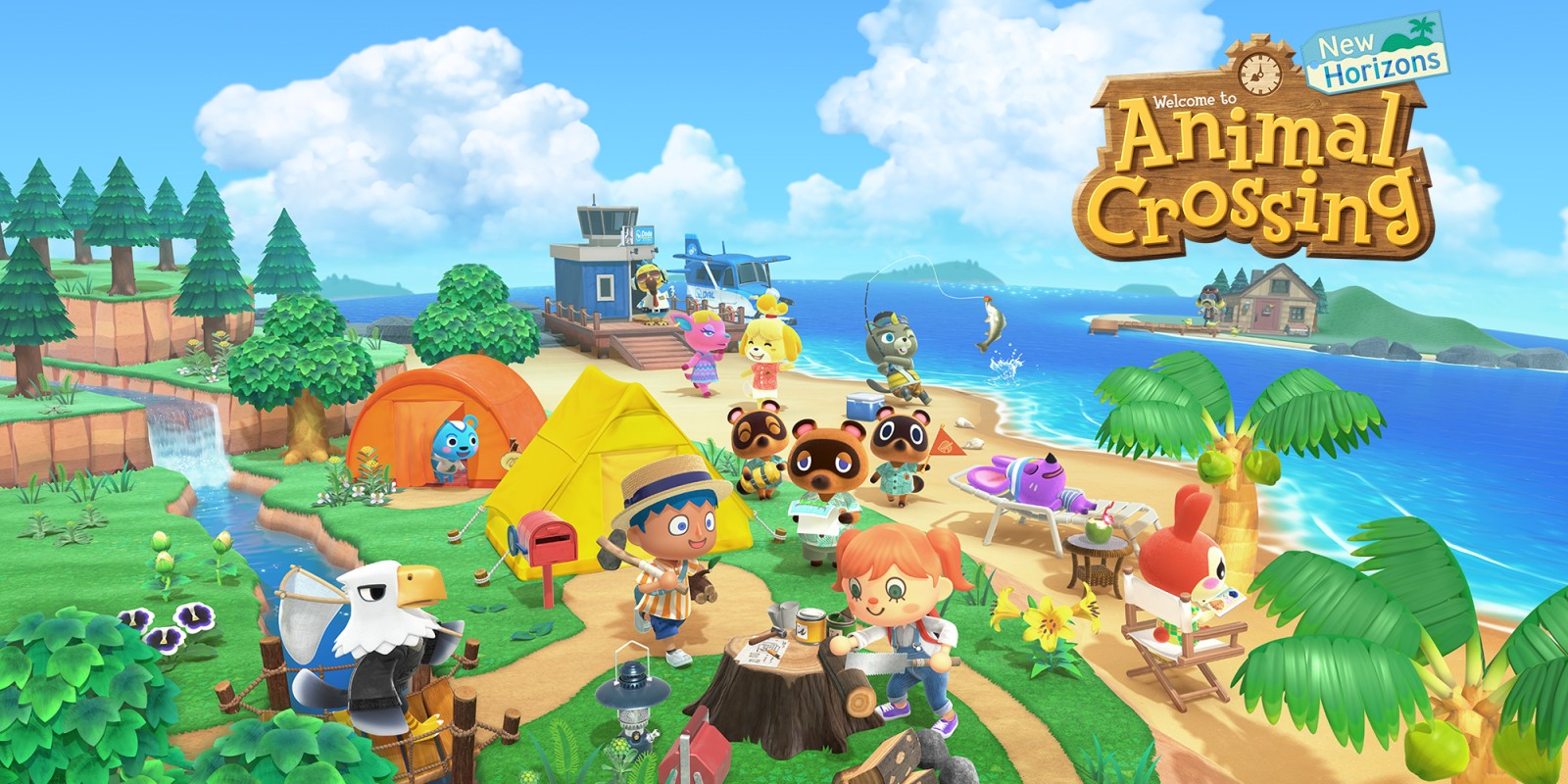 A Vacation Well Spent in Animal Crossing: New Horizons