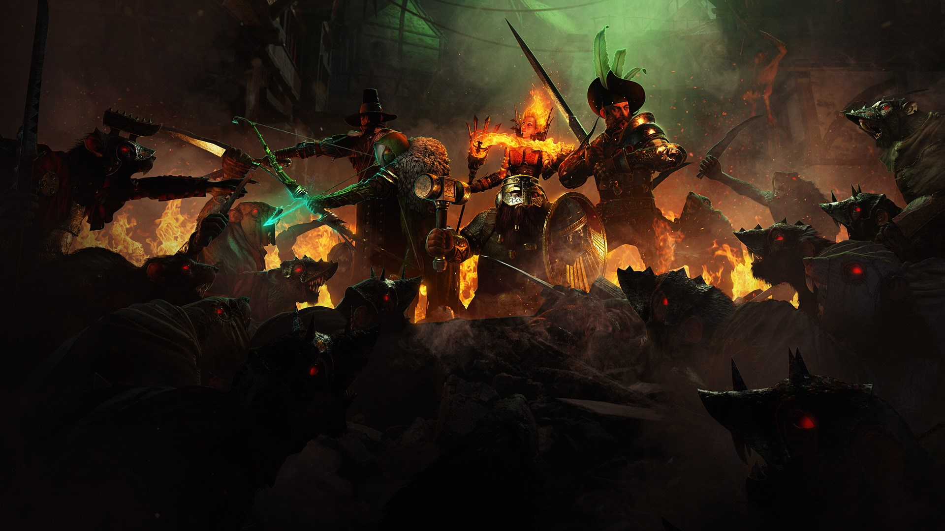 Co-op Joys of Warhammer: The End Times: Vermintide