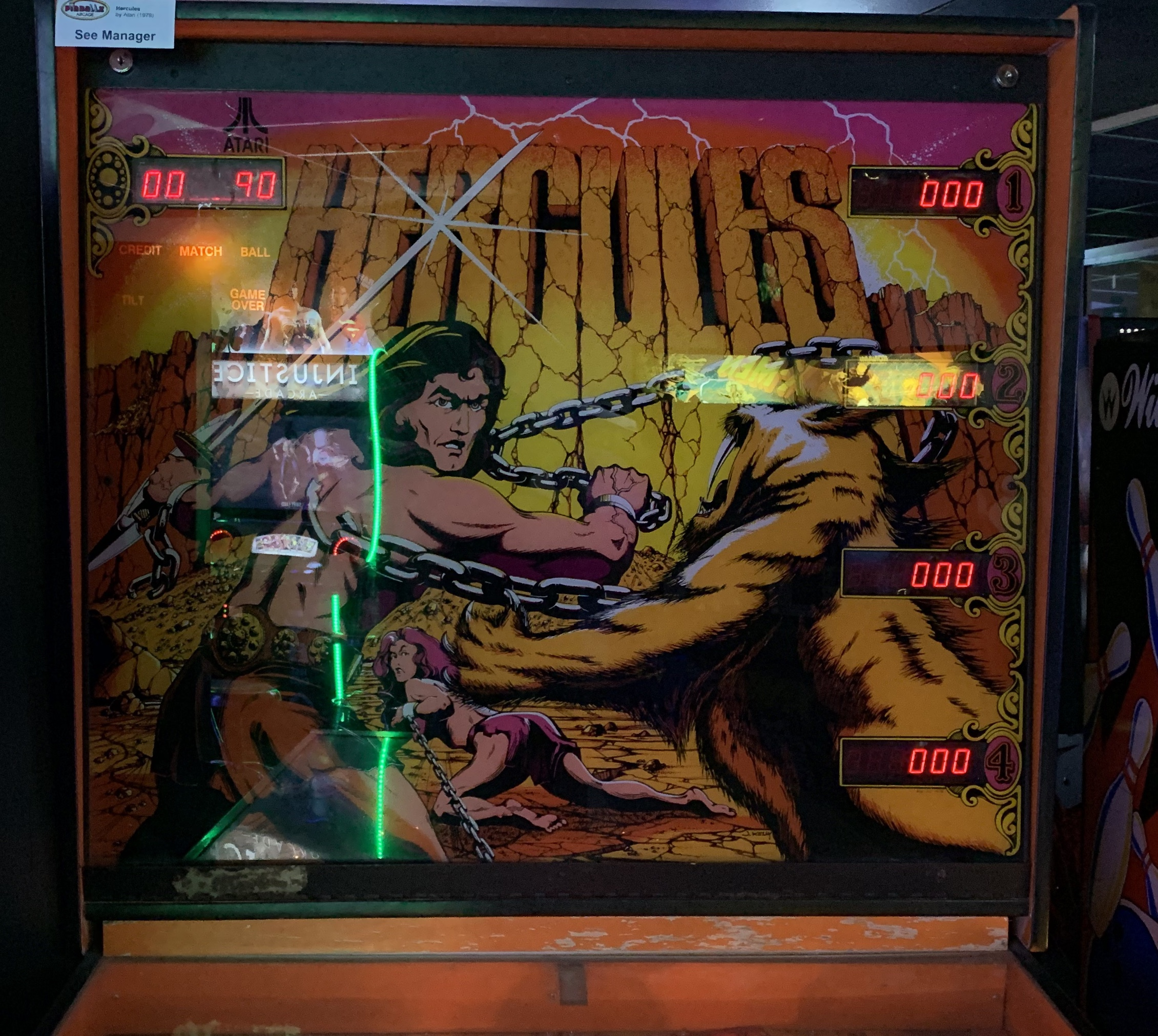 A World of Games: Hercules Pinball