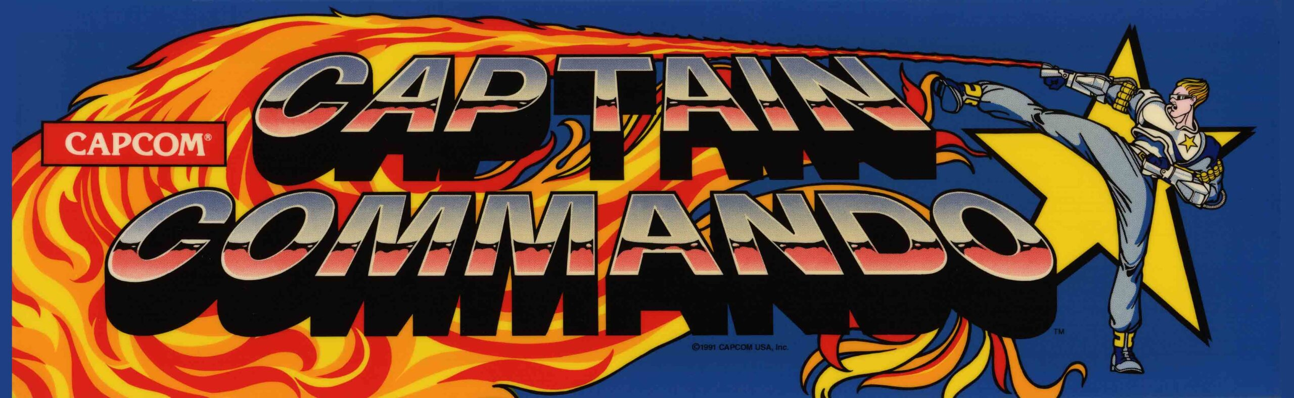 A World of Games: Captain Commando