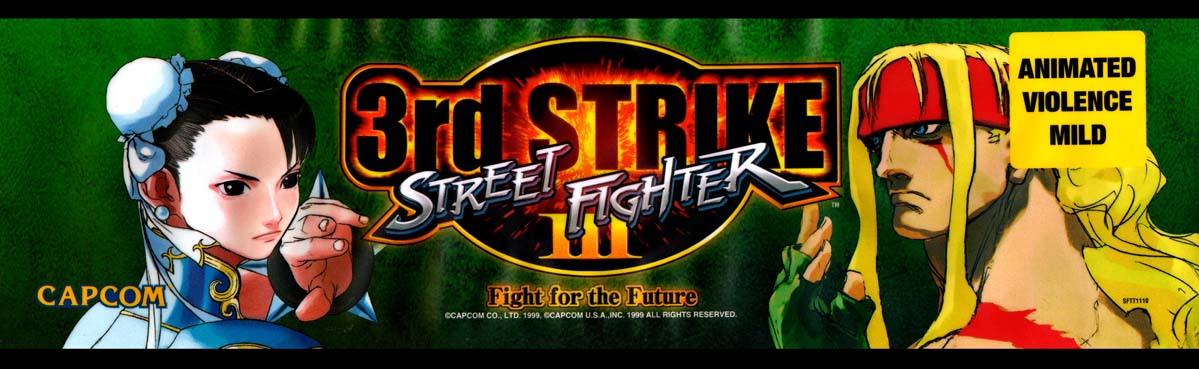 A World of Games: Street Fighter III: Third Strike