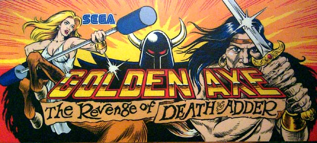 A World of Games: Golden Axe: The Revenge of Death Adder
