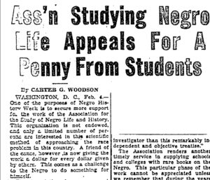 Appeal to Students for Pennies