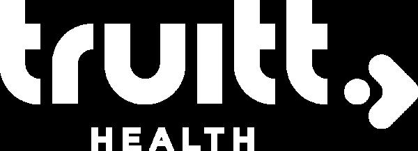 Truitt Health white logo