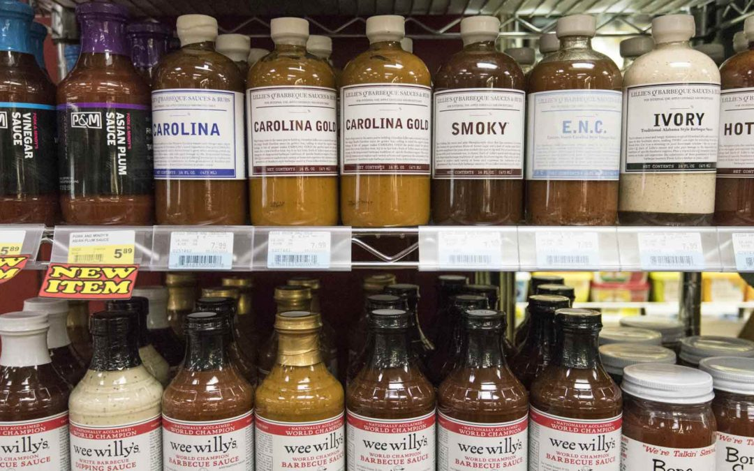 Grocery Store, BBQ Sauce