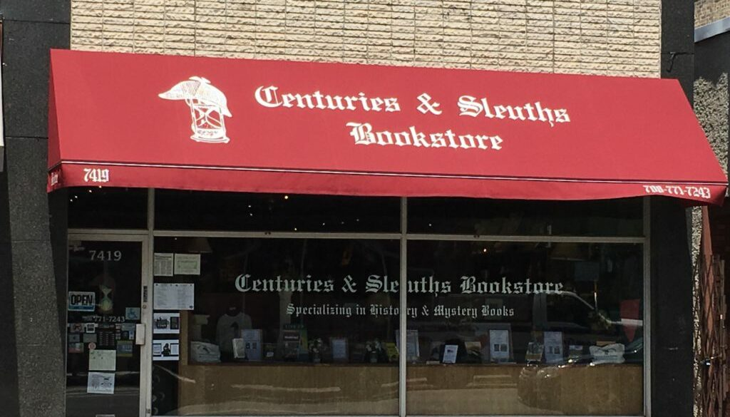 Centuries & Sleuths Bookstore 6-24-2017