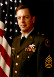 First Sergeant Mike Allen, U.S. Army Official Photo