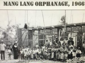 Image of Mang Lang Orphanage Under Construction in 1966