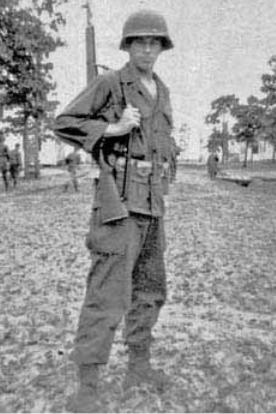 Robert Burgess at Fort Polk in 1946