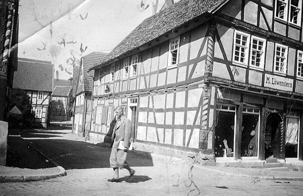 The Lowenstern family store in Korbach, Germany