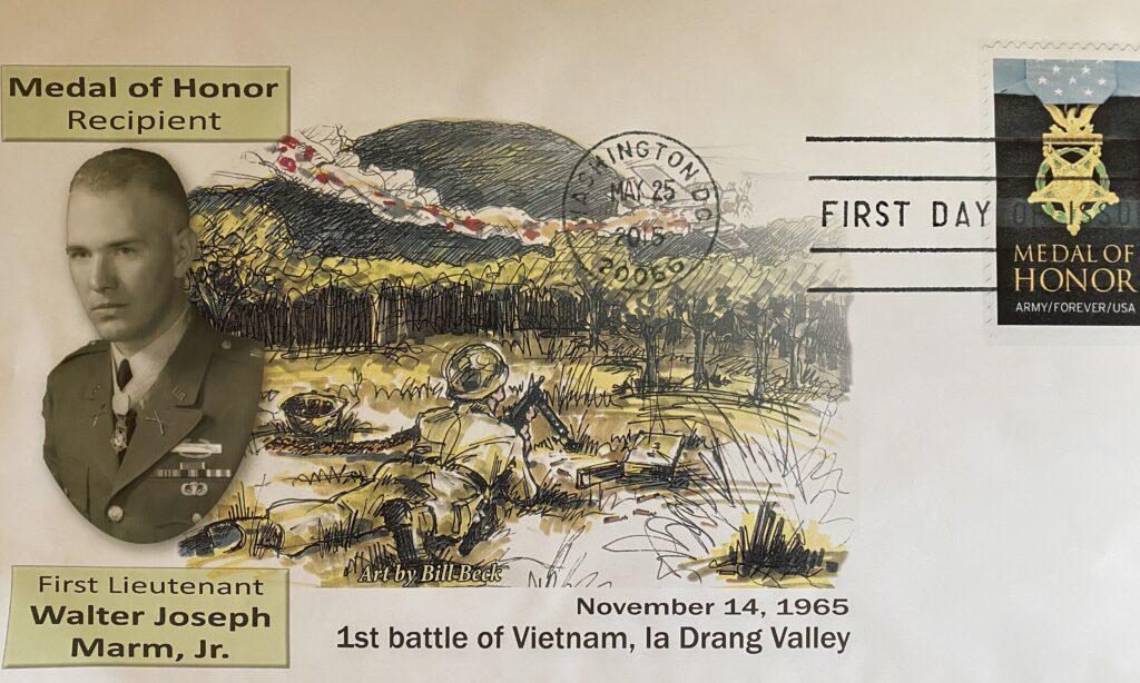 Medal of Honor Postcard featuring Joe Marm