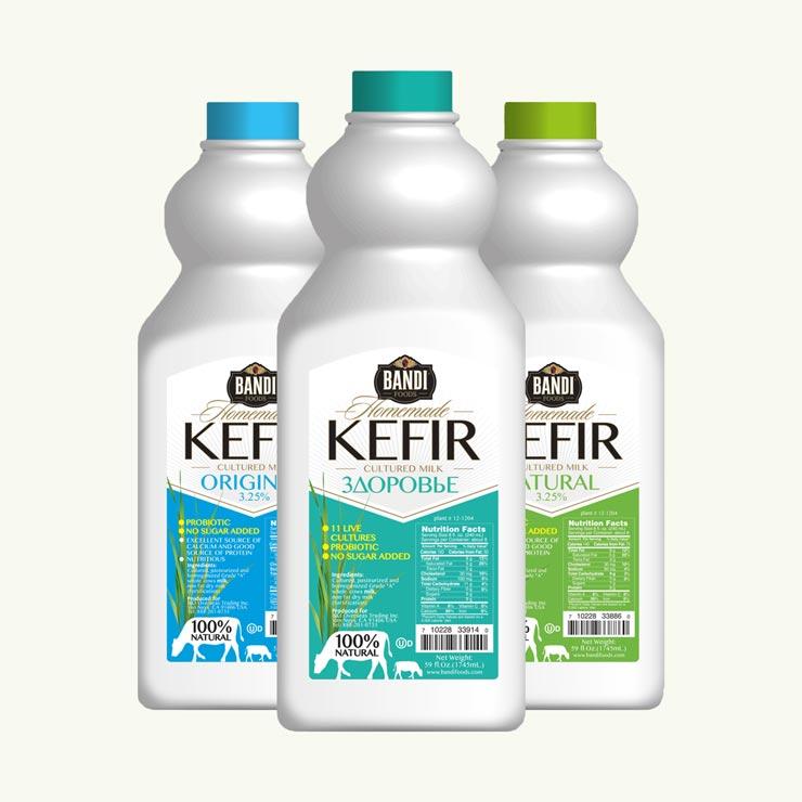 Cultured Milk and Kefir