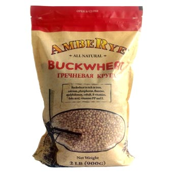 AmbeRye Buckwheat 2lb