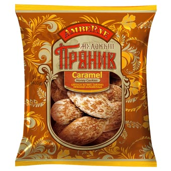 AmbeRye Caramel & Honey Cookies