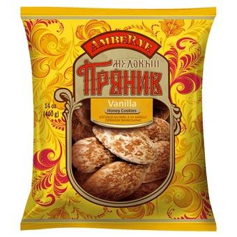 AmbeRye Vanilla & Honey Cookies