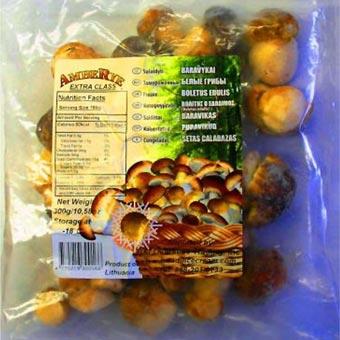 Amberye Boletus Mushrooms