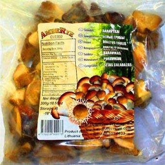Amberye Boletus Mushrooms Cubes
