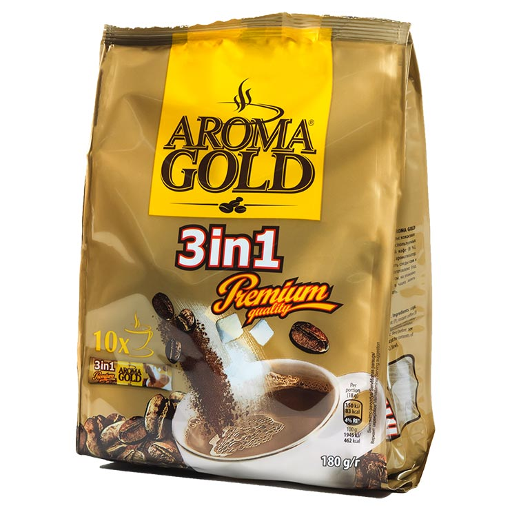 Aroma Gold Premium Coffee Drink 3 in 1 in Bag