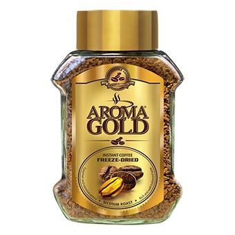 Aroma Gold Freeze-Dried Instant Coffee 100g