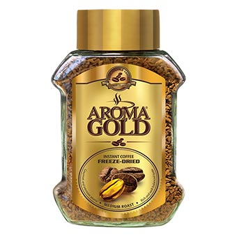 Aroma Gold Freeze-Dried Instant Coffee 200g