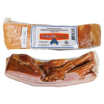 Ashland Sausage Danish Smoked Bacon Vacuum Packed