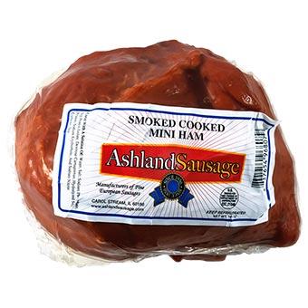 Ashland Sausage Smoked Mini Ham Vacuum Packed