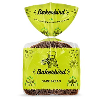 Bakerbird Dark Bread 300g