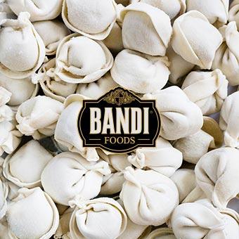 Bandi Bulk Beef Dumplings 30lb