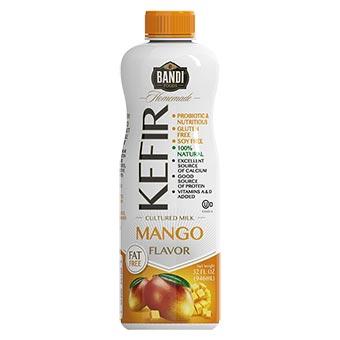 Bandi Cultured Milk Mango Kefir 32oz