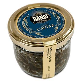 Bandi Kaluga Sturgeon Black Caviar Jar 100g