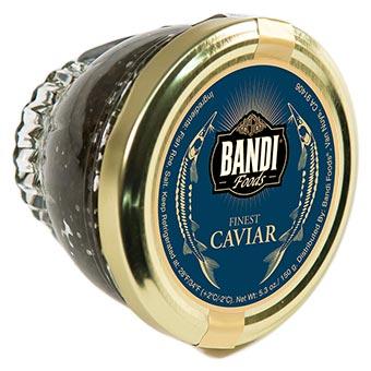 Bandi Kaluga Sturgeon Black Caviar Jar 150g