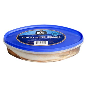 Bandi Lightly Salted Herring with Head 1.3kg