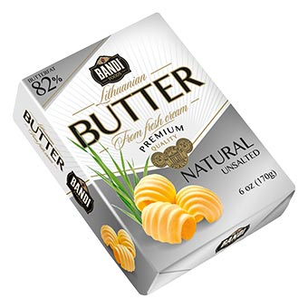 Bandi Natural Unsalted Butter 82%