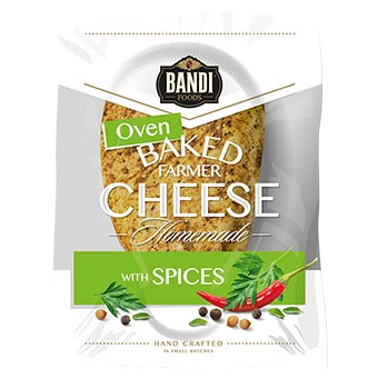 Bandi Oven Baked Farmer Cheese with Spices 250g