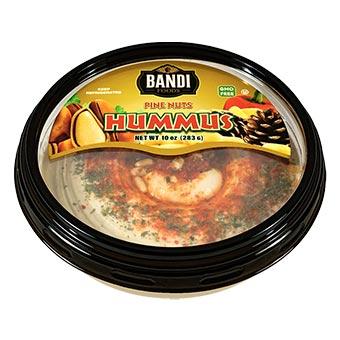 Bandi Pine Nuts Hummus 10oz