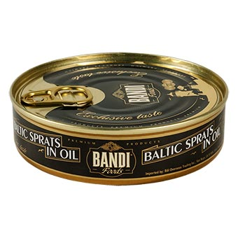 Bandi Smoked Sprats in Oil (Easy Opener) 160g