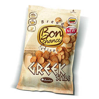 Bon Chance Bread Crisps Greek Style