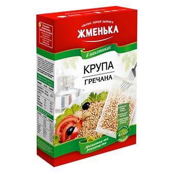 Zhmenka Buckwheat Grains 4 packs (4x100g)