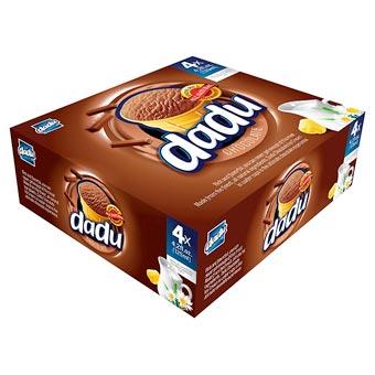 Dadu Family 4-Pack Chocolate Ice Cream