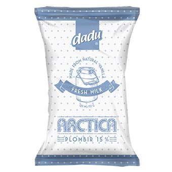 Dadu Arctica Plombir Vanilla Ice Cream in Waffle Cup