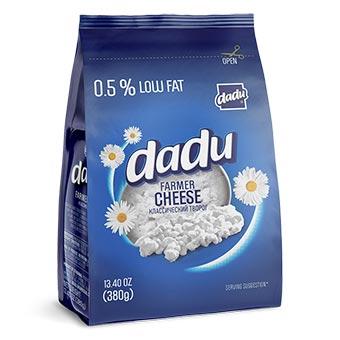 Dadu Farmer Cheese Low Fat 0.5% 380g