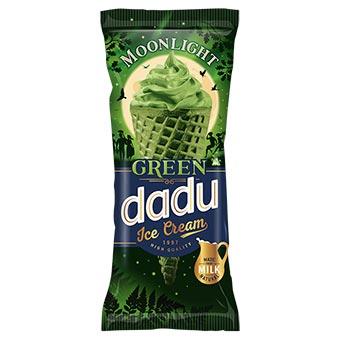 Dadu Green Ice Cream Waffle Cone 150ml
